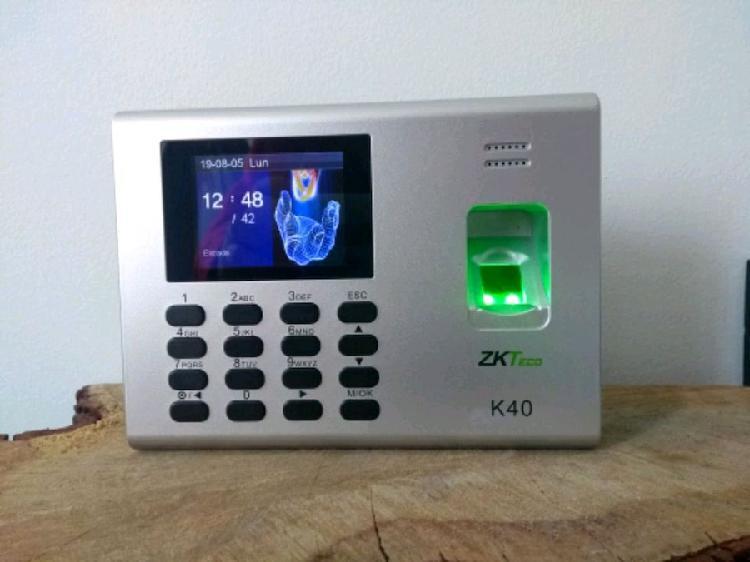 Biométricos control de asistencia