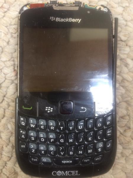 Blackberry curve 8520 funcionando roto