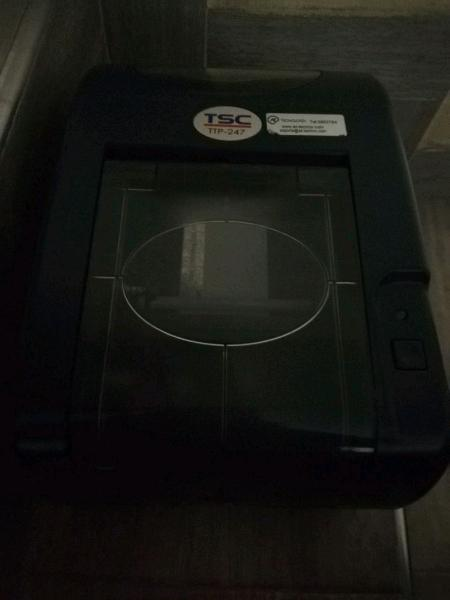 Espectacular impresora tsc ttp 247