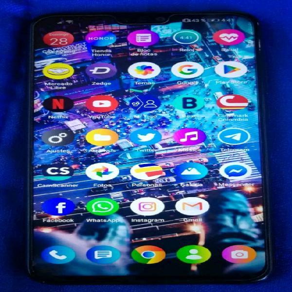 Huawei honor 8x de 64 gb color negro