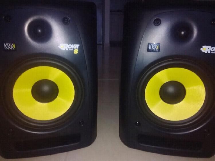 Monitores KRK8 RPG2 Professional Sound