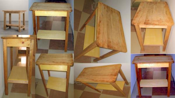 Mesa madera segunda mano 【 ANUNCIOS Enero 】 | Clasf