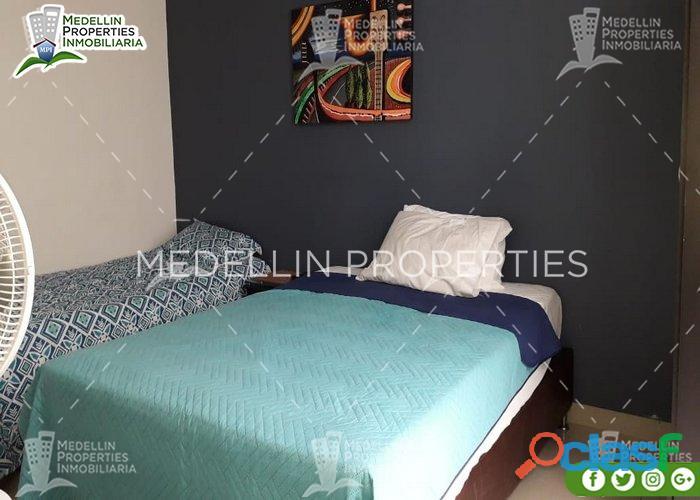 Apartamentos y casas amobladas por dias en medellin cód: 4825