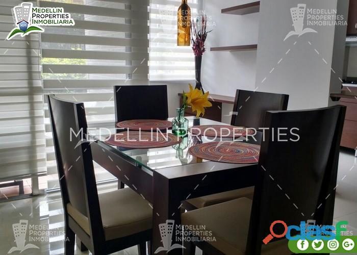 Apartamentos amoblados economicos en bello cód: 4909