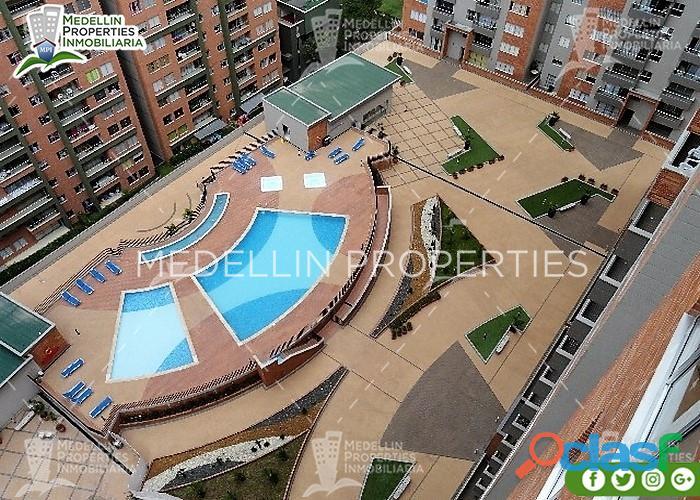 Apartamentos amoblados economicos en el poblado cod: 4980