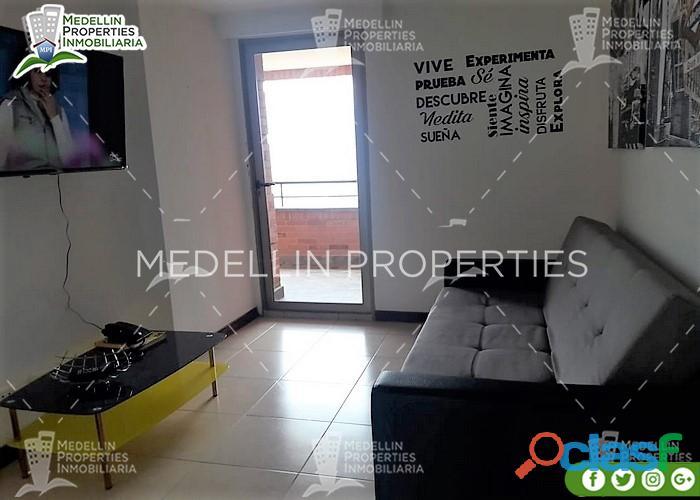 Apartamentos amoblados economicos en medellin cód.: 4972