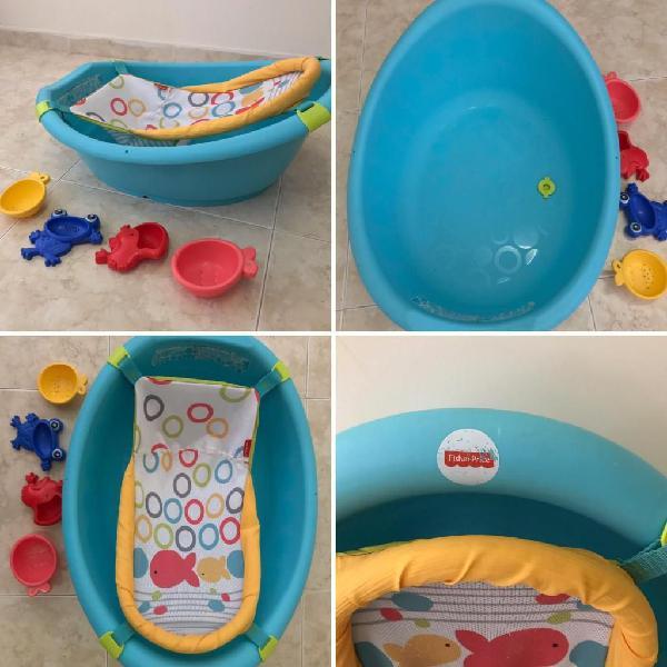 Bañera tina bebe fisherprice usado