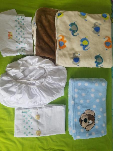 Cobijas y sabanas de bebé