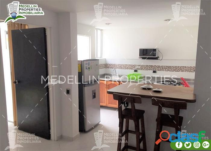 Apartamentos amoblados economicos en medellin cód: 4663