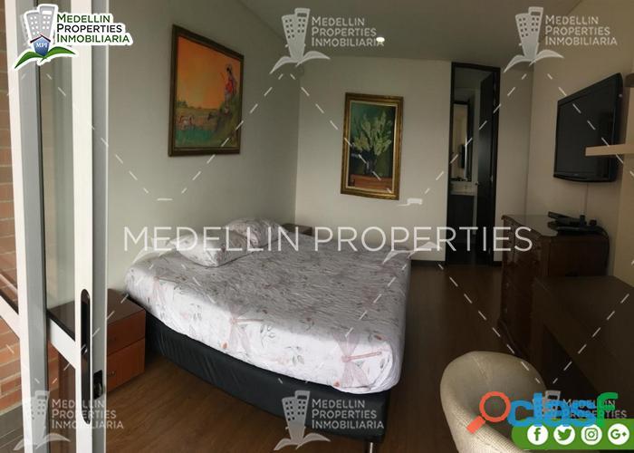Apartamentos y casas amobladas por dias en medellin cód.: 4936