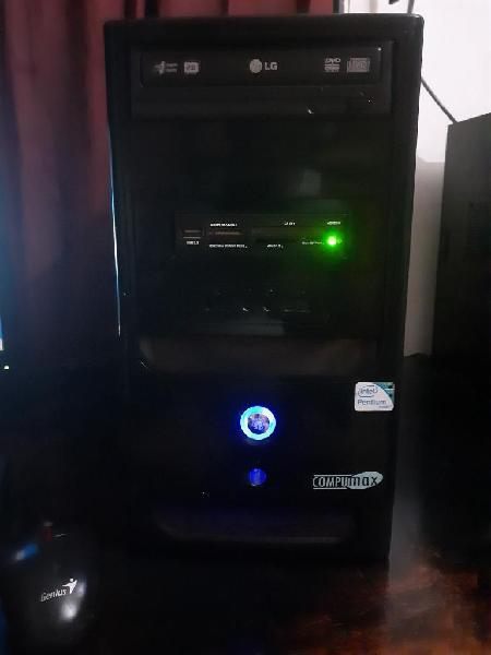 Pc intel dual core 2.7 ram 3gb dd 320gb