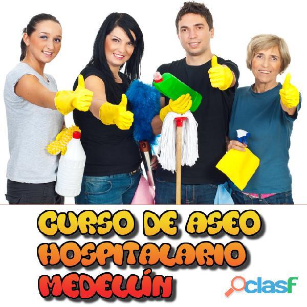 Curso de Aseo Hospitalario, Limpieza y Desinfección 1