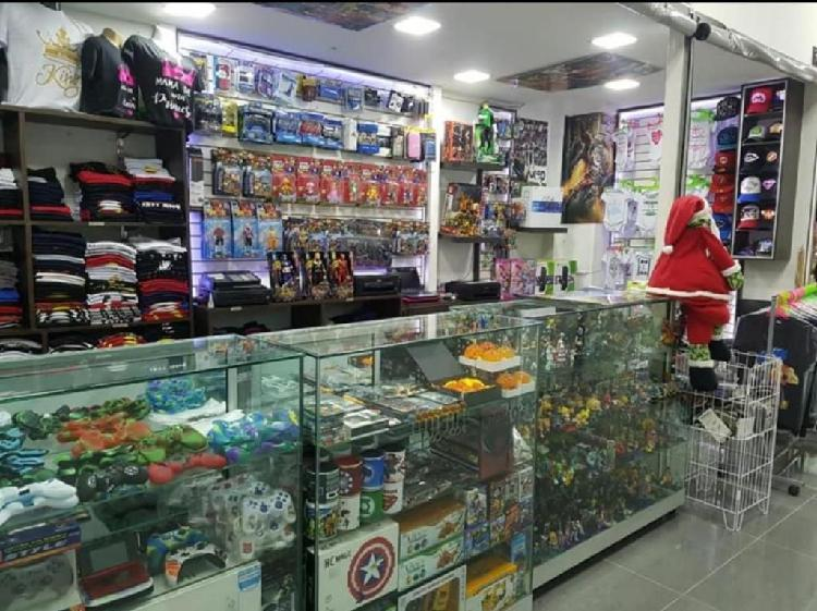 Vendo o permuto negocio tienda anime