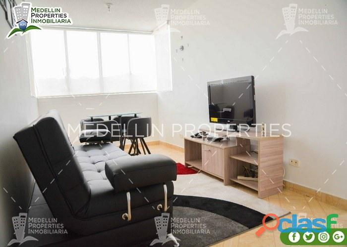 Alquiler de apartamentos por mes en el poblado cod: 5028