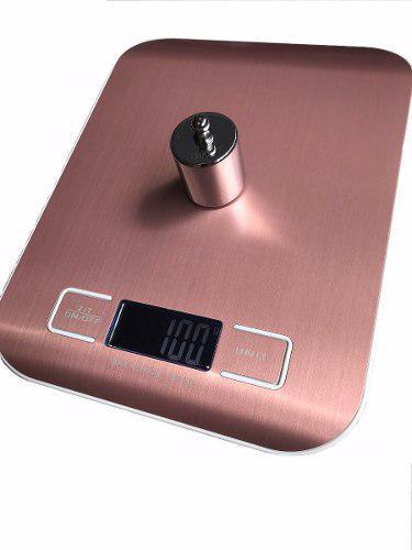 Balanza digital bascula gramera max 10kg div 1g pantalla lcd