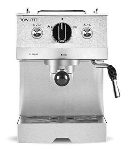 Bowuttd bd0903 cafetera express capuchinera profesional