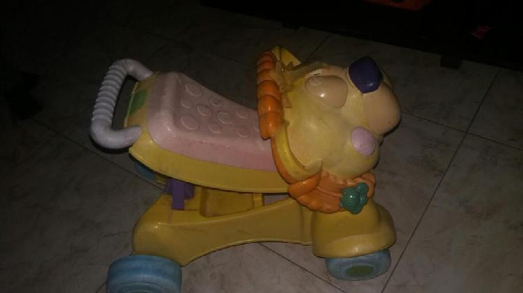 Caminador y carrito de leon