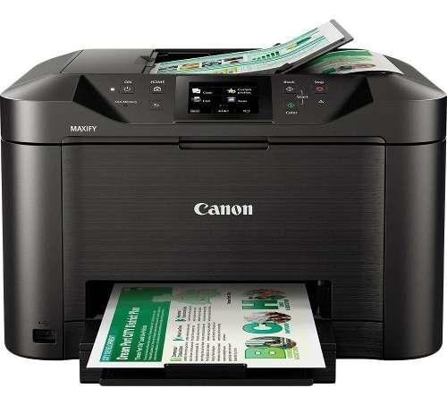 Canon multifuncional maxify 5110 wi fi en promo pantalla lcd