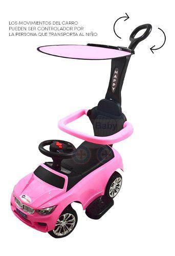 Carro montable para bebes y niños tipo paseador 4 colores