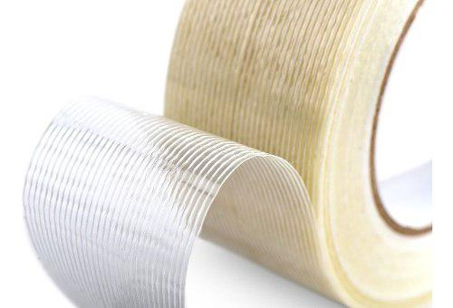 Cinta de fibra de vidrio con filamento para aeromodelismo