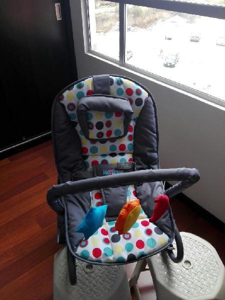 Coche Y Silla Mecedora para Bebé