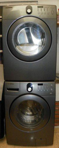 Combo de lavadora + secadora a gas samsung 14 kg / 31 lbs