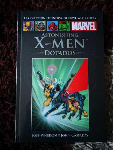 Comic colección definitiva marvel x-men dotados