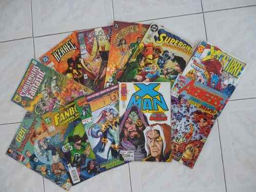 Comics de colección en español marvel dc varios x men