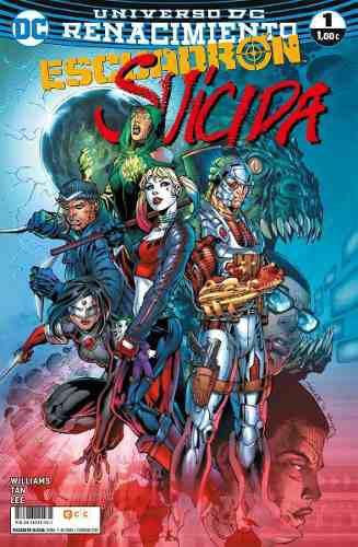Dc comics - escuadron suicida 1 al 9 renacimiento - español