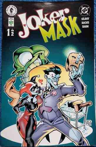 Dc comics joker/mask 1 y 2 - young justice 2 y 3