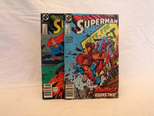 Dc comics superman comic code authoritty en ingles 1988 mxn