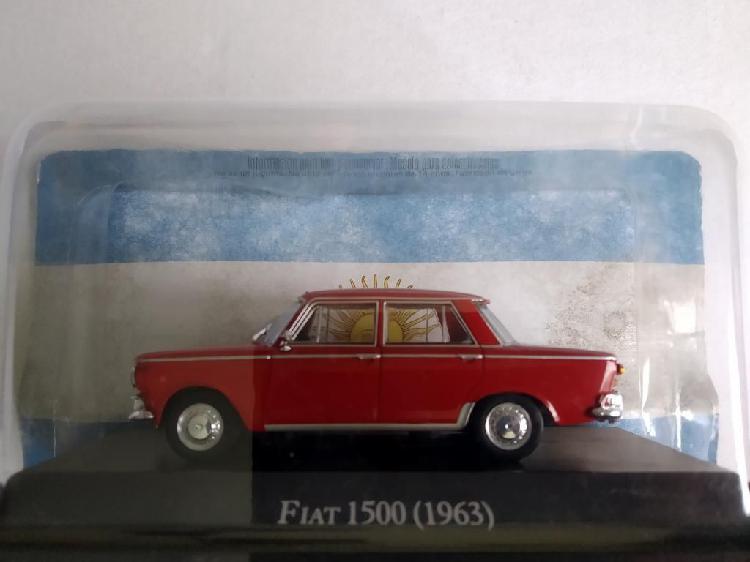 Fiat 1500 escala 1:43 queridos de argent