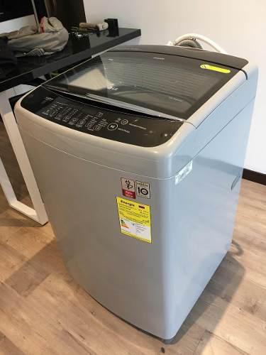 Lavadora lg wt18dsb smart inverter de 18kg - 6 meses uso