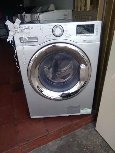 Lavadora secadora haceb usada 26 libras con garantía