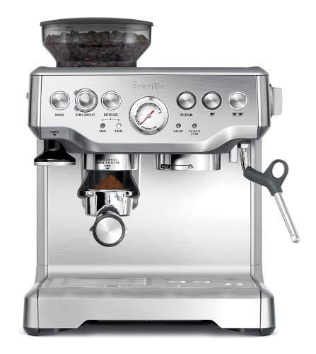 Maquina cafetera capuchino / café espress breville bes870