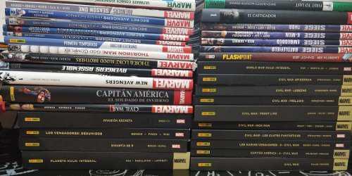 Marvel - colección de comics civil war castigador cap