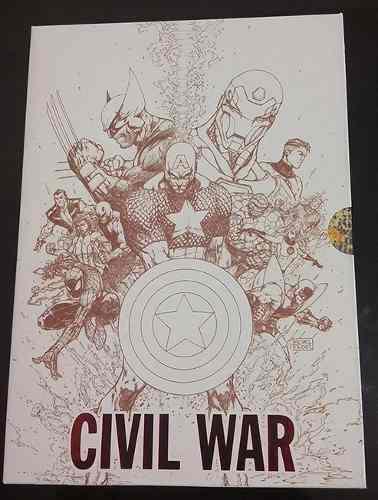 Marvel comics - civil war - edicion deluxe - español