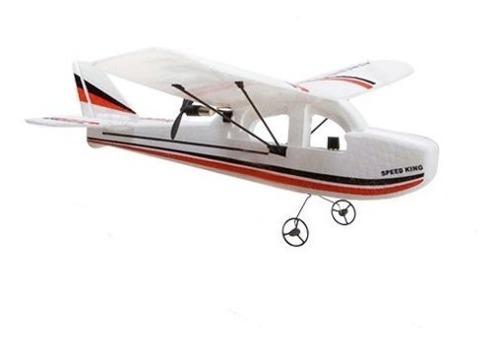 Micro cessna 781 2ch rtf eléctrico control remoto avión rc