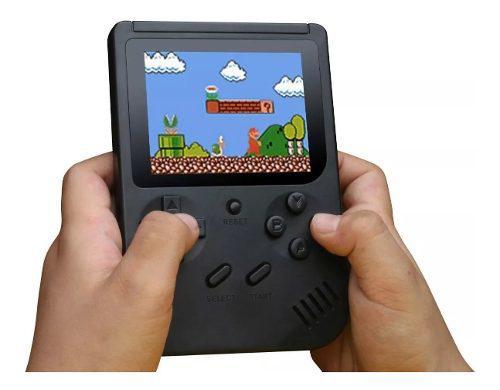 Mini consola retro portatil juegos play tipo game boy