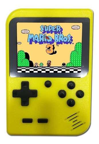 Mini consola retro portatil tipo game boy juegos family clas