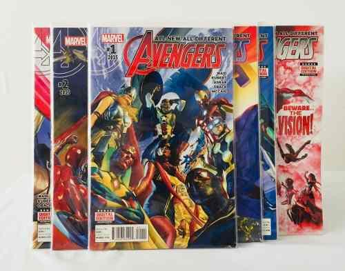 Pack cómics all-new all-diferrent avengers #1 al #6 -