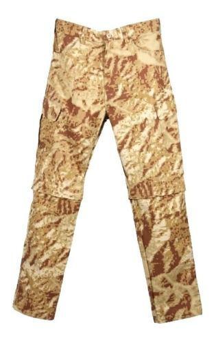 Pantalón Convertible A Bermuda Tipo Desierto Camuflado