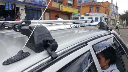 Parrilla portaequipaje para carro sin perforar el techo