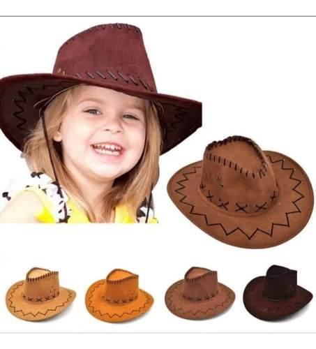 Sombrero vaquero para niño en gamuza talla unica toy story