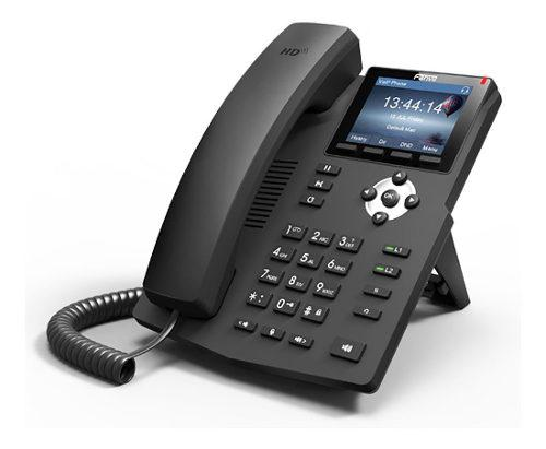 Telefono ip fanvil x3s 2 lineas sip voip pantalla color