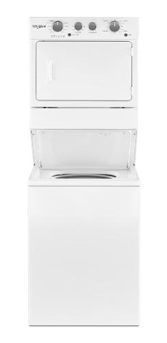 Whirlpool torre de lavado y secado a gas 20 kg lavadora / 1