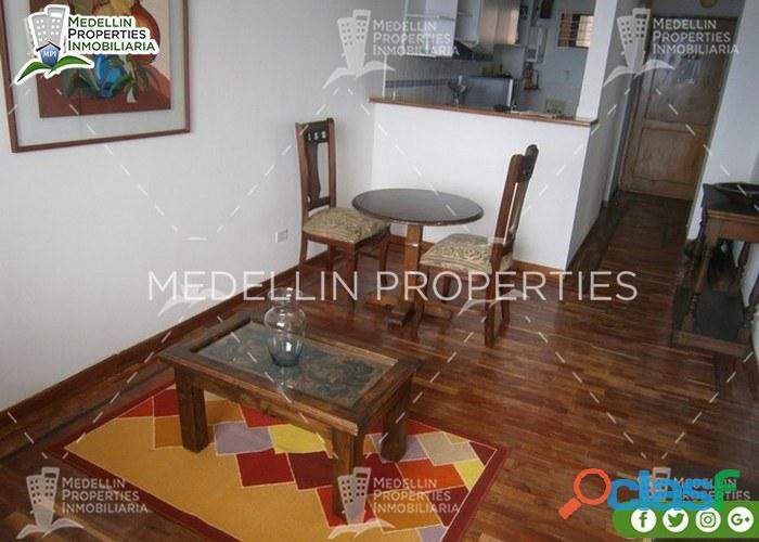 Apartamentos amoblados economicos en medellin cód: 4175