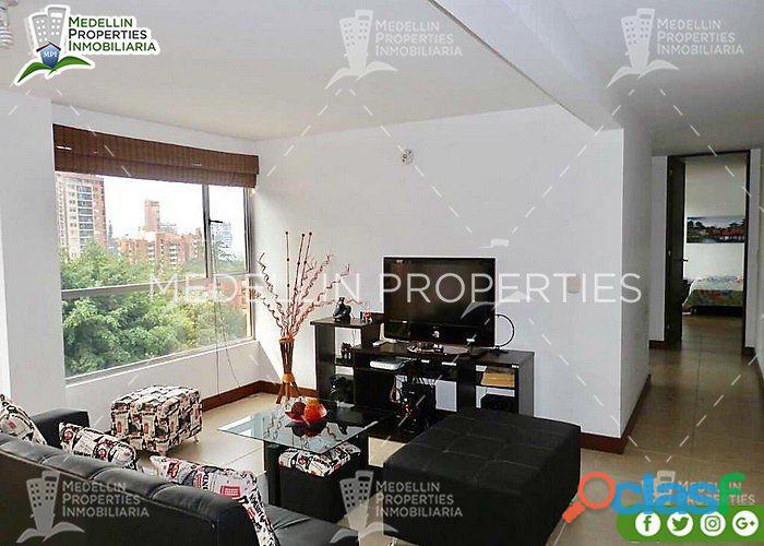 Apartamentos amoblados economicos en medellin cód: 4392