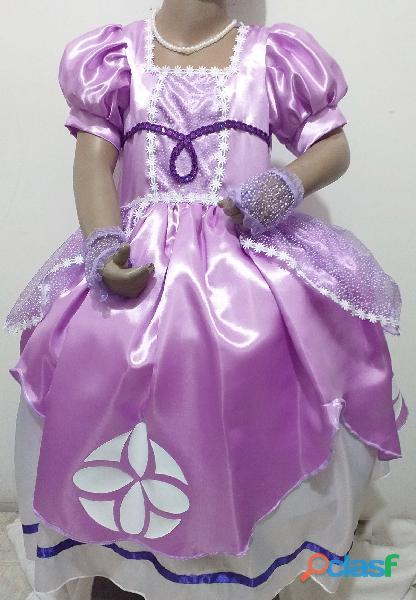 Venta de disfraces de princesita sofia para niñas pequeñas