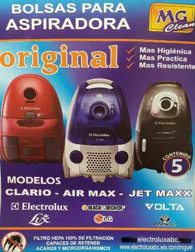 Bolsas airmax aspiradora electrolux air01